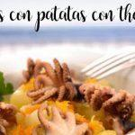 Pulpitos con patatas con thermomix