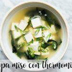 sopa miso thermomix