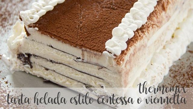tarta helada estilo contessa o viennetta