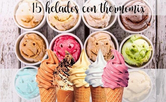 helados con thermomix