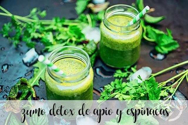 zumo detox de apio y espinacas con thermomix
