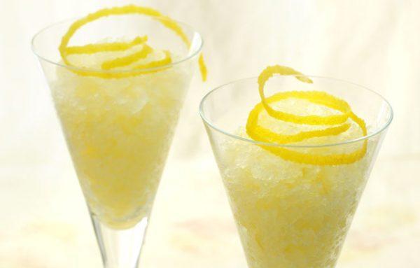 Granizado de limón con Thermomix