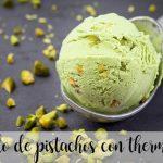 Helado de pistachos con thermomix