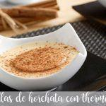 natillas de horchata thermomix