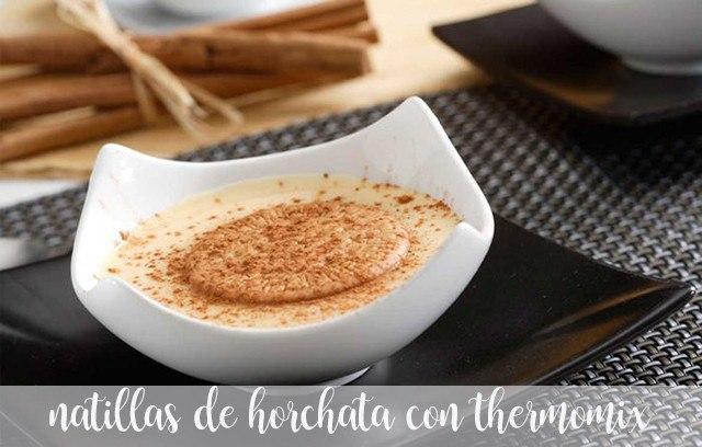 natillas de horchata thermomix