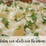 patatas con alioli con thermomix