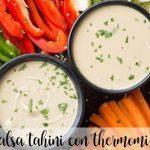 salsa tahini en la Thermomix