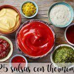 25 salsas con Thermomix