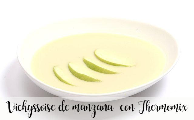 Vichyssoise de manzana con Thermomix