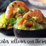 Aguacates rellenos con thermomix