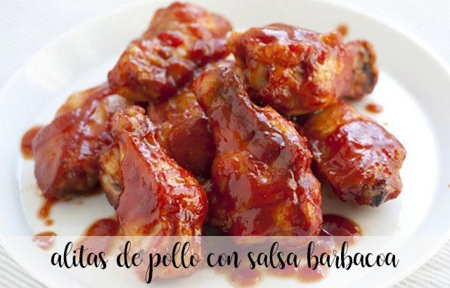 Alitas De Pollo Con Salsa Barbacoa En La Thermomix
