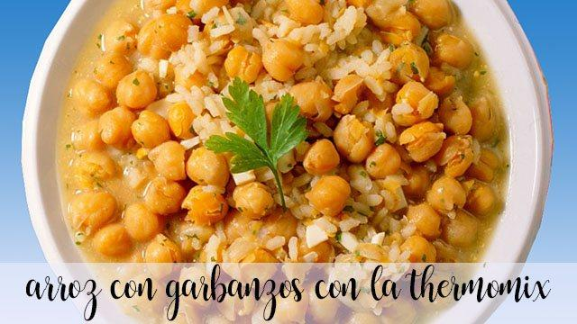 Arroz con garbanzos en la Thermomix