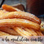 Churros a la madrileña con thermomix