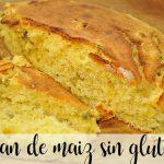 Pan de maíz sin gluten con thermomix