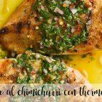 Pollo al chimichurri en la Thermomix