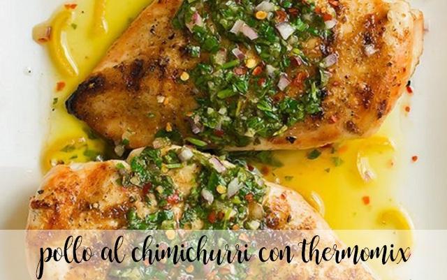 Pollo al chimichurri en la Thermomix