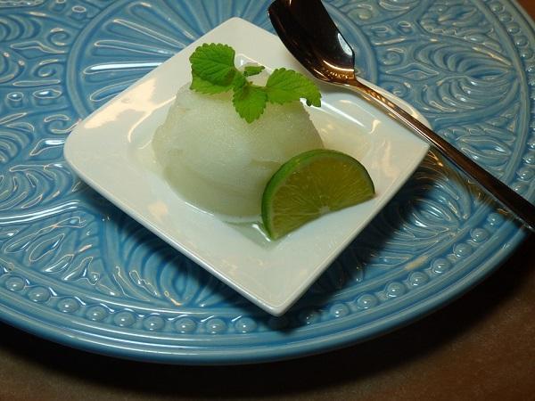 Sorbete de lima y limón con la Thermomix