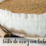 Tarta de arroz con leche con Thermomix