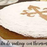 Tarta de Santiago con thermomix