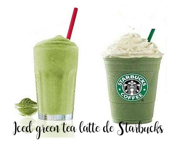 Te verde helado con leche tipo Starbucks con Thermomix