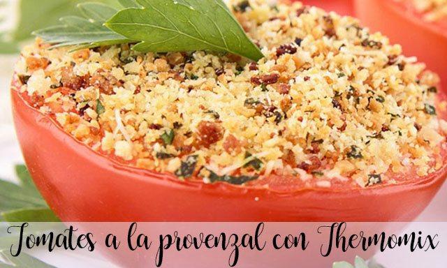 Tomates a la provenzal con Thermomix
