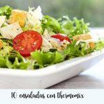 10 ensaladas con Thermomix