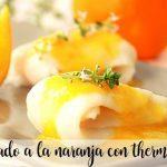 Lenguado a la naranja con thermomix