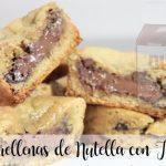 Galletas rellenas de Nutella con Thermomix
