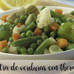 menestra de verduras con thermomix