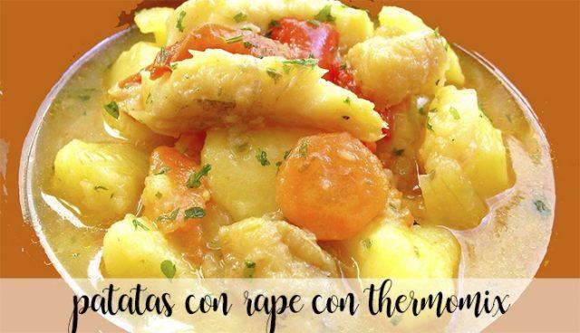 Patatas con Rape con Thermomix