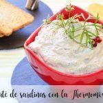 Paté de sardinas con la Thermomix