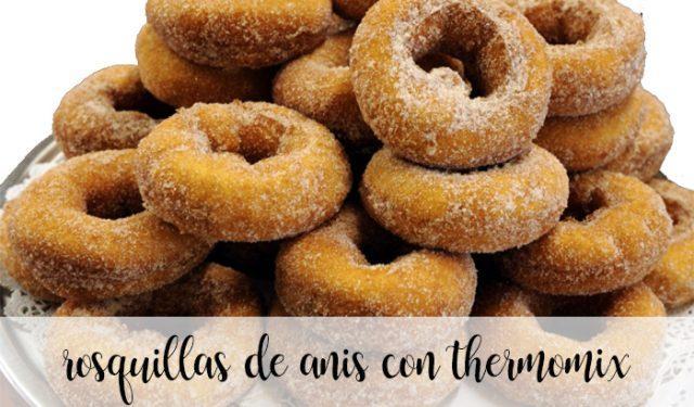 Rosquillas de anis con thermomix