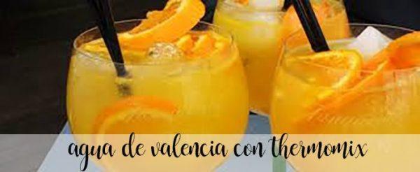 Agua de Valencia con Thermomix