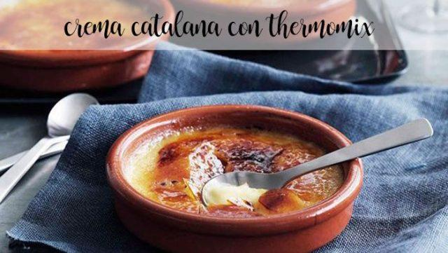 crema catalana con thermomix