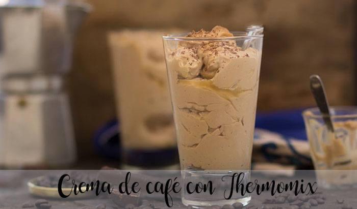 Crema de café con Thermomix