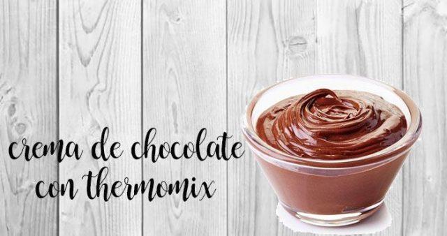 Crema de Chocolate con Thermomix