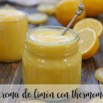 Crema de Limón con Thermomix