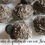 cupcakes de galletas de oreo con Thermomix