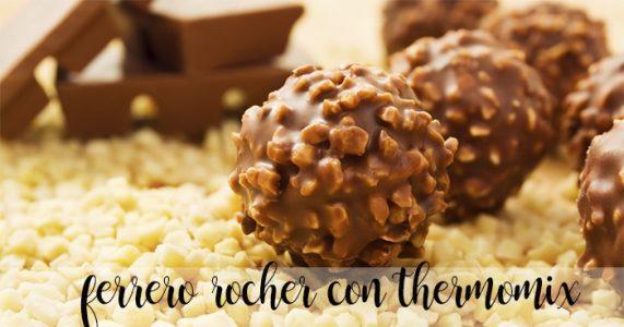 Ferrero Rocher casero con Thermomix