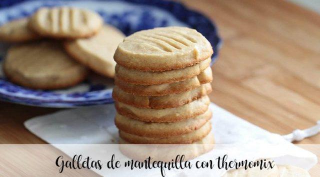 Galletas de mantequilla con thermomix