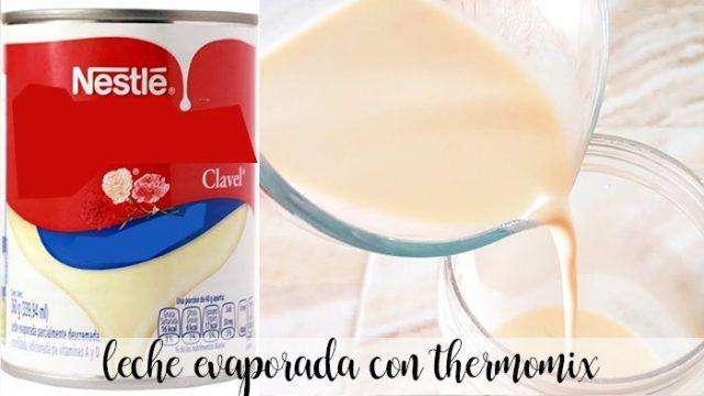 leche evaporada con thermomix