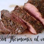 Lomo con Thermomix al varoma