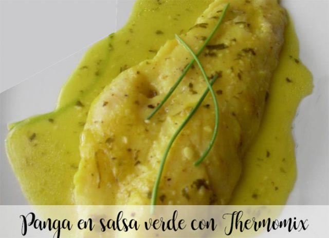 Panga en salsa verde con Thermomix