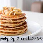 panqueques con thermomix