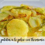 Patatas a lo pobre con Thermomix