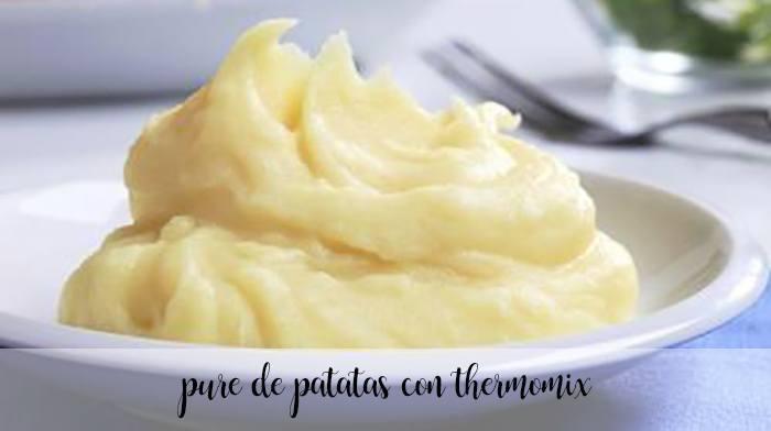 Puré de patatas con thermomix