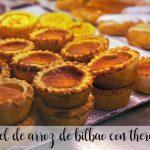 Pastel de arroz de Bilbao con Thermomix