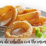 Aros de cebolla con thermomix