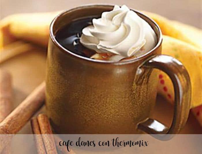 Café danés con thermomix