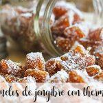 Caramelos de jengibre con thermomix